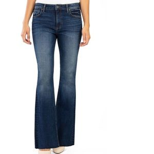 Kut from the Kloth high waisted bootcut